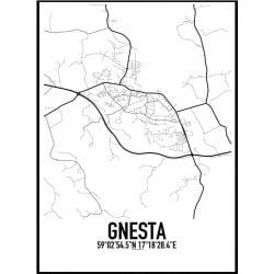 Gnesta Karta Poster