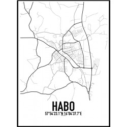 Habo Karta Poster