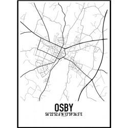 Osby Karta Poster
