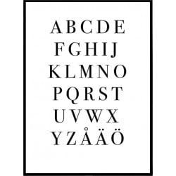 Svenskt Alfabet