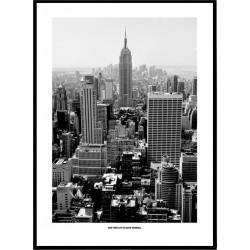 Svartvit New York