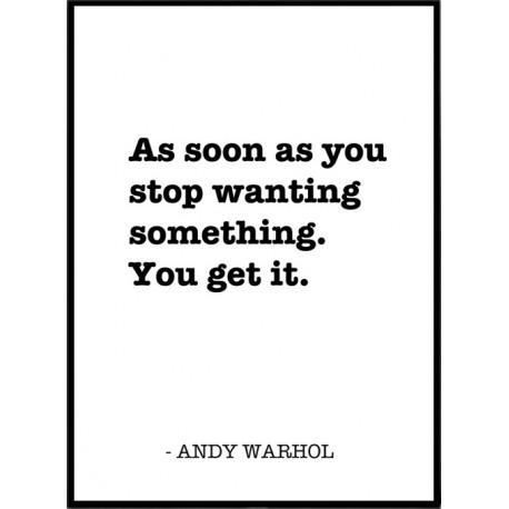 Andy Warhol Affischer