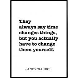 Andy Warhol Plansch