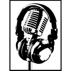 Mikrofon Poster