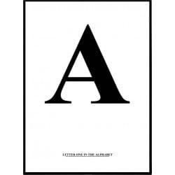 Alfabet A Poster