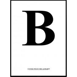 Alfabet B Poster