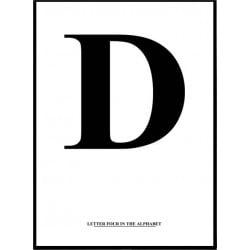 Alfabet D Poster