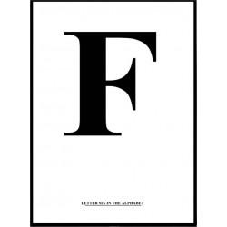 Alfabet F Poster