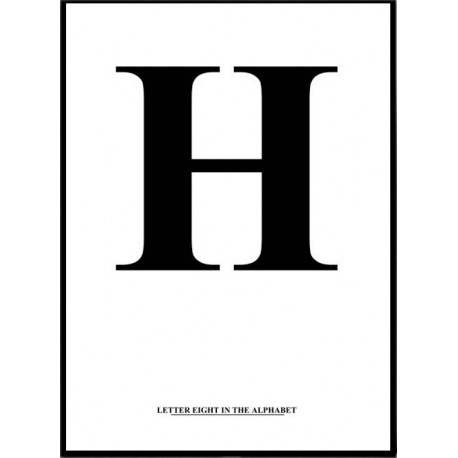 Alfabet G Poster