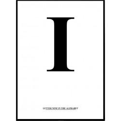 Alfabet I Poster