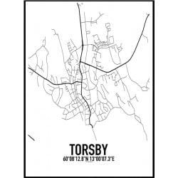 Torsby Karta Poster