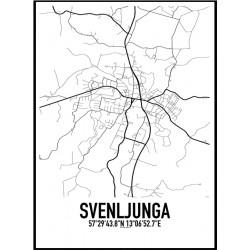 Svenljunga Karta