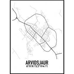 Arvidsjaur Karta