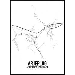 Arjeplog Karta