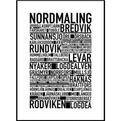 Nordmaling Poster