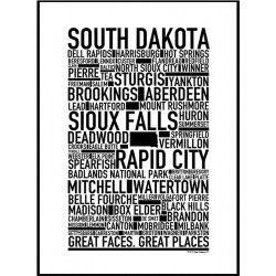 South Dakota Poster