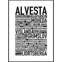 Alvesta Poster