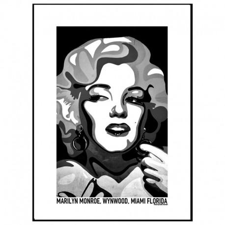 Marilyn Monroe Black