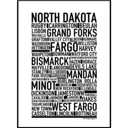 North Dakota Poster