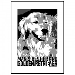 Golden Retriever Plansch