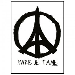 Peace Paris Poster