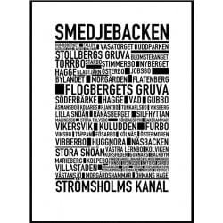 Smedjebacken Poster