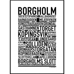 Borgholm Poster