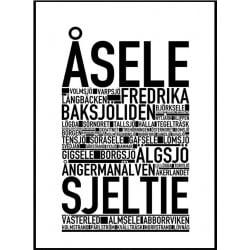 Åsele Poster