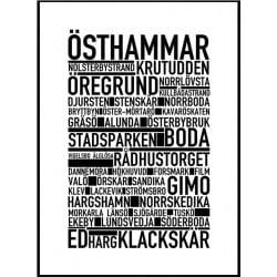 Östhammar Poster