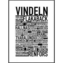 Vindeln Poster