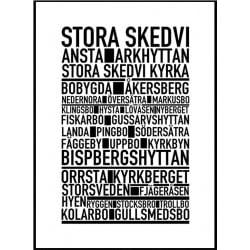 Stora Skedvi Poster