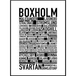 Boxholm Poster