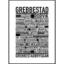 Grebbestad Poster