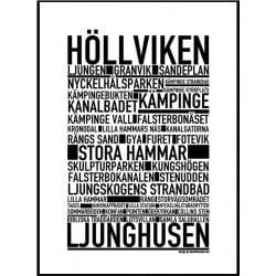 Höllviken Poster