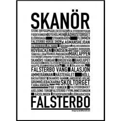 Skanör Poster