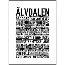 Älvdalen Poster