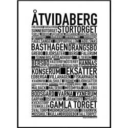 Åtvidaberg Poster