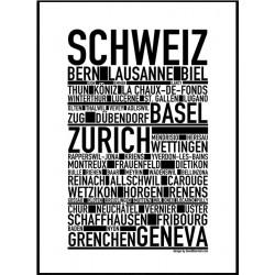 Schweiz Poster