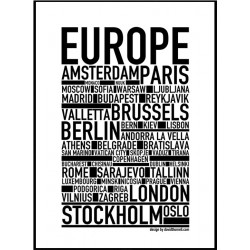 Europe Poster