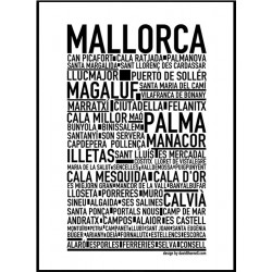 Mallorca Poster