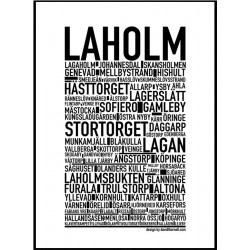 Laholm Poster