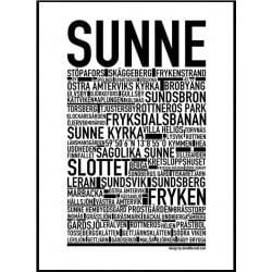 Sunne Poster