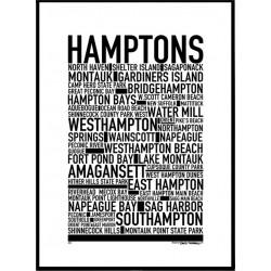 Hamptons Poster
