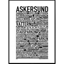 Askersund Poster