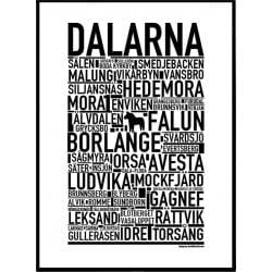 Dalarna Poster