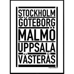 Svenska Fem Poster