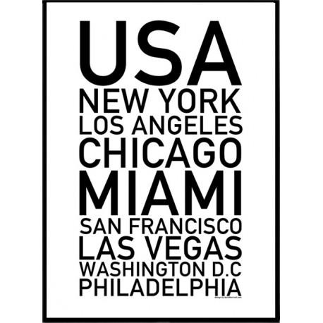 USA Städer