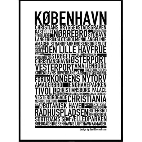 Köpenhamn Poster