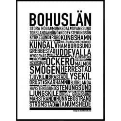 Bohuslän Poster