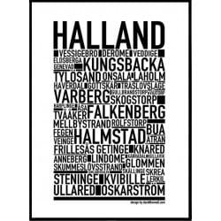 Halland Poster